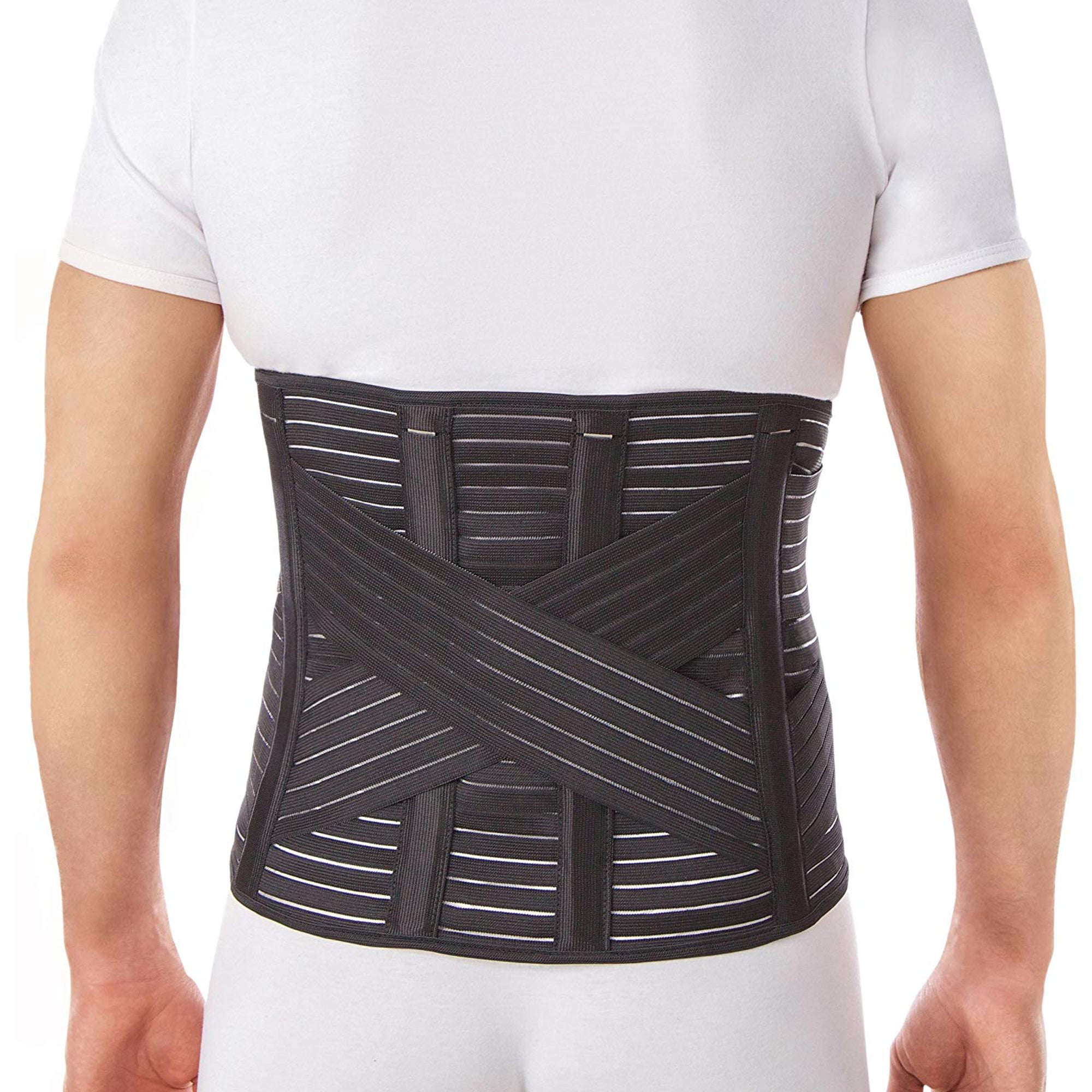 Lower Back Brace Lumbar Support Belt - Pain Relief and Correct Posture