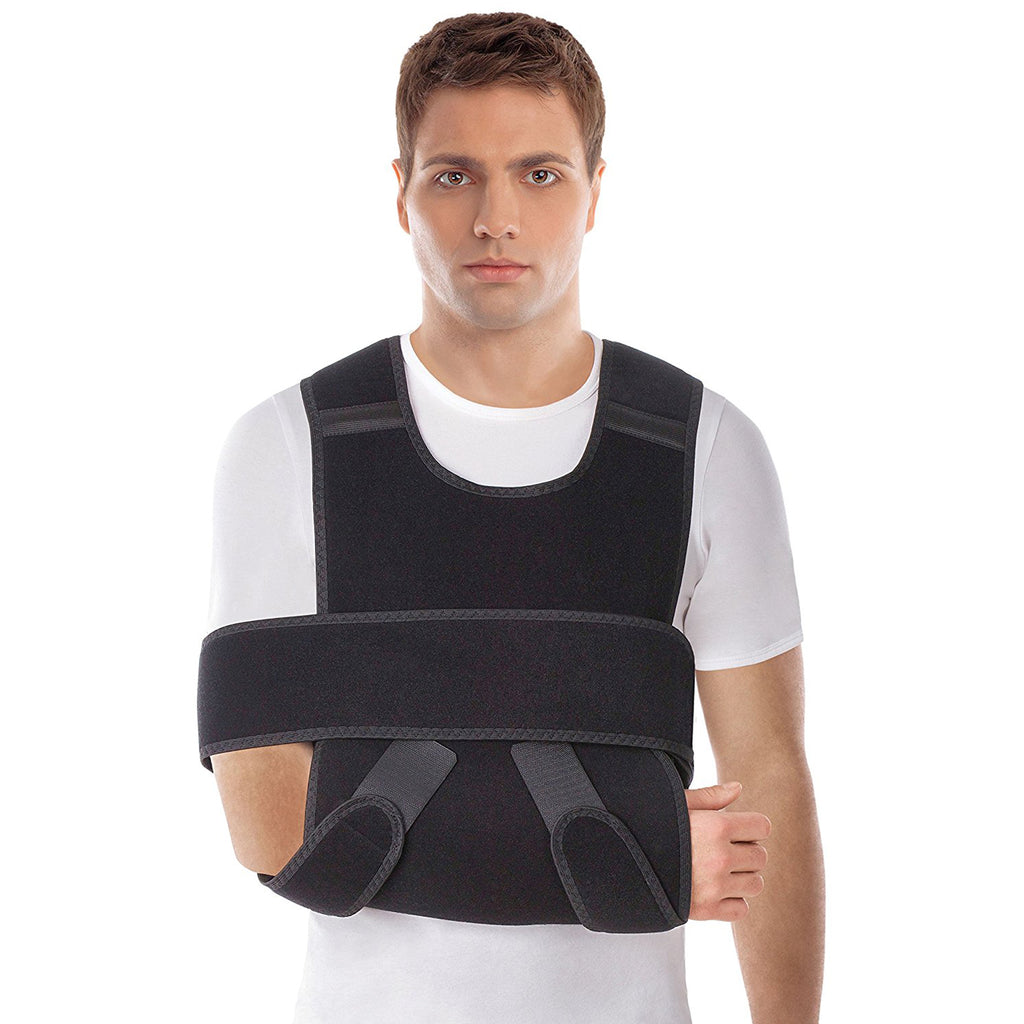 Adjustable Arm Sling Shoulder Immobilizer - Support Brace