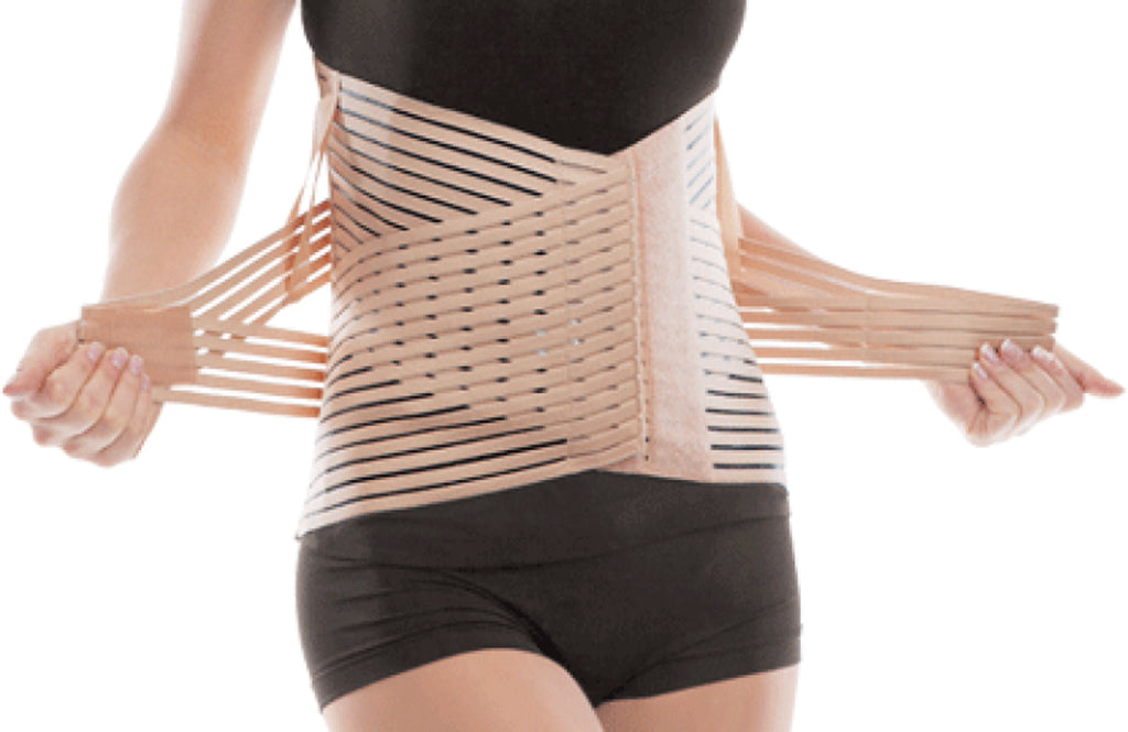 Breathable Lumbar Support Brace Belt - Lower Back Lumbo-Sacral Compression