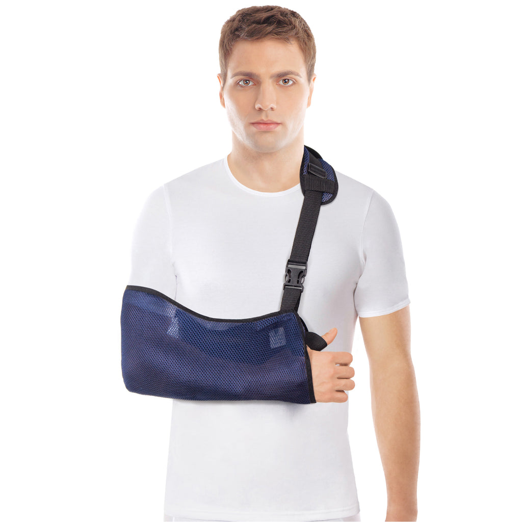 Breathable Mesh Arm Sling Shoulder and Wrist Support