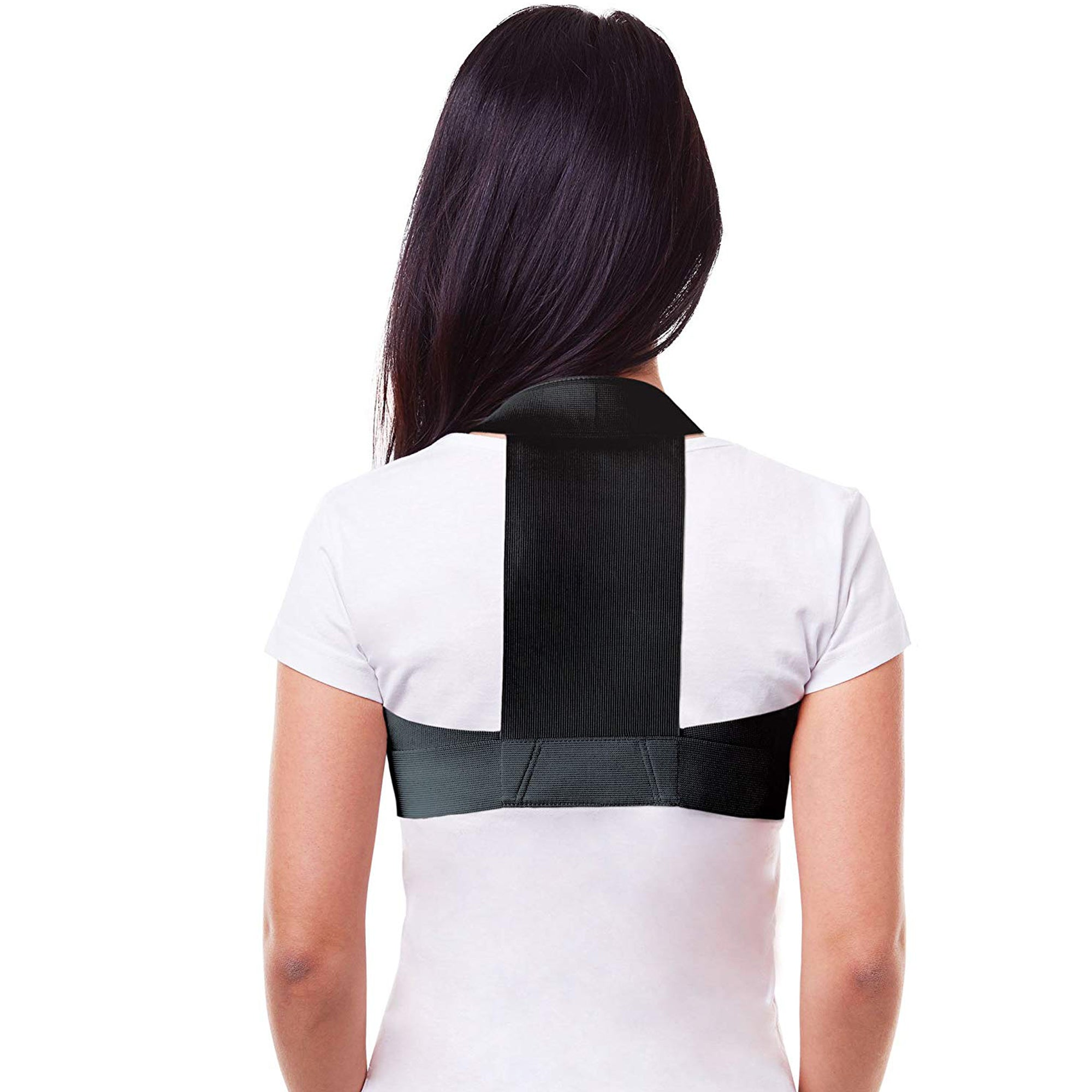Elastic Upper Back Posture Corrector & Clavicle Support Brace