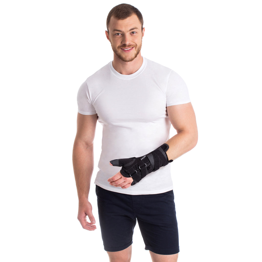 Wrist Support Strap Brace Thumb Support with Metal String