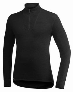 FR Turtleneck Shirt w/Short Zipper 400 g/m2-Woolpower-Big River Outdoors