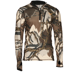 Predator Camo 1/4 ZIP FLeece-Predator Camo-Big River Outdoors