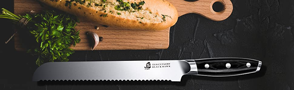 The Best Bread Knife You've Ever Have - Black Hawk Bread Knife