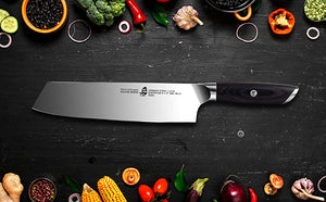 The TUO Kiritsuke Knife - Perfect for Veggies & Fish Cutting