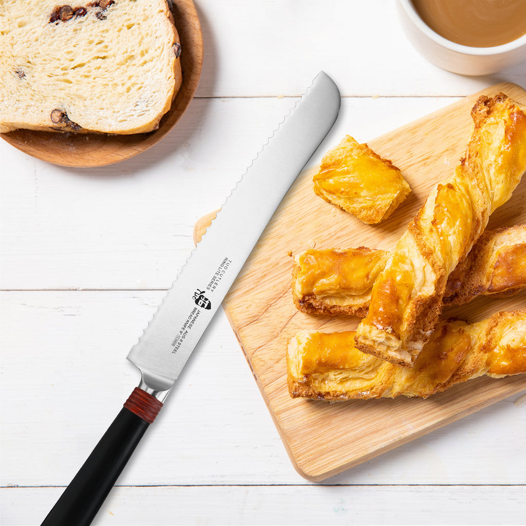 TUO Cutlery - Ring Lite - 9-inch Bread Knife