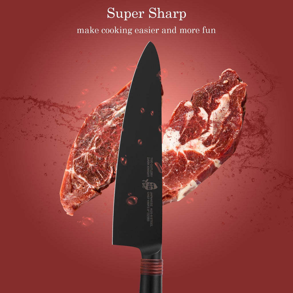 #chef knife, #8inch knife, #dark knight, #tuo cutlery, #cutlery, #kitchen kniives