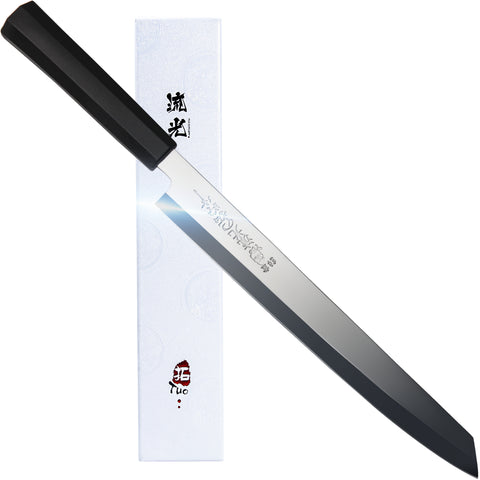 TC0902P Single-Edge Tanto Sushi Knife 10.5""