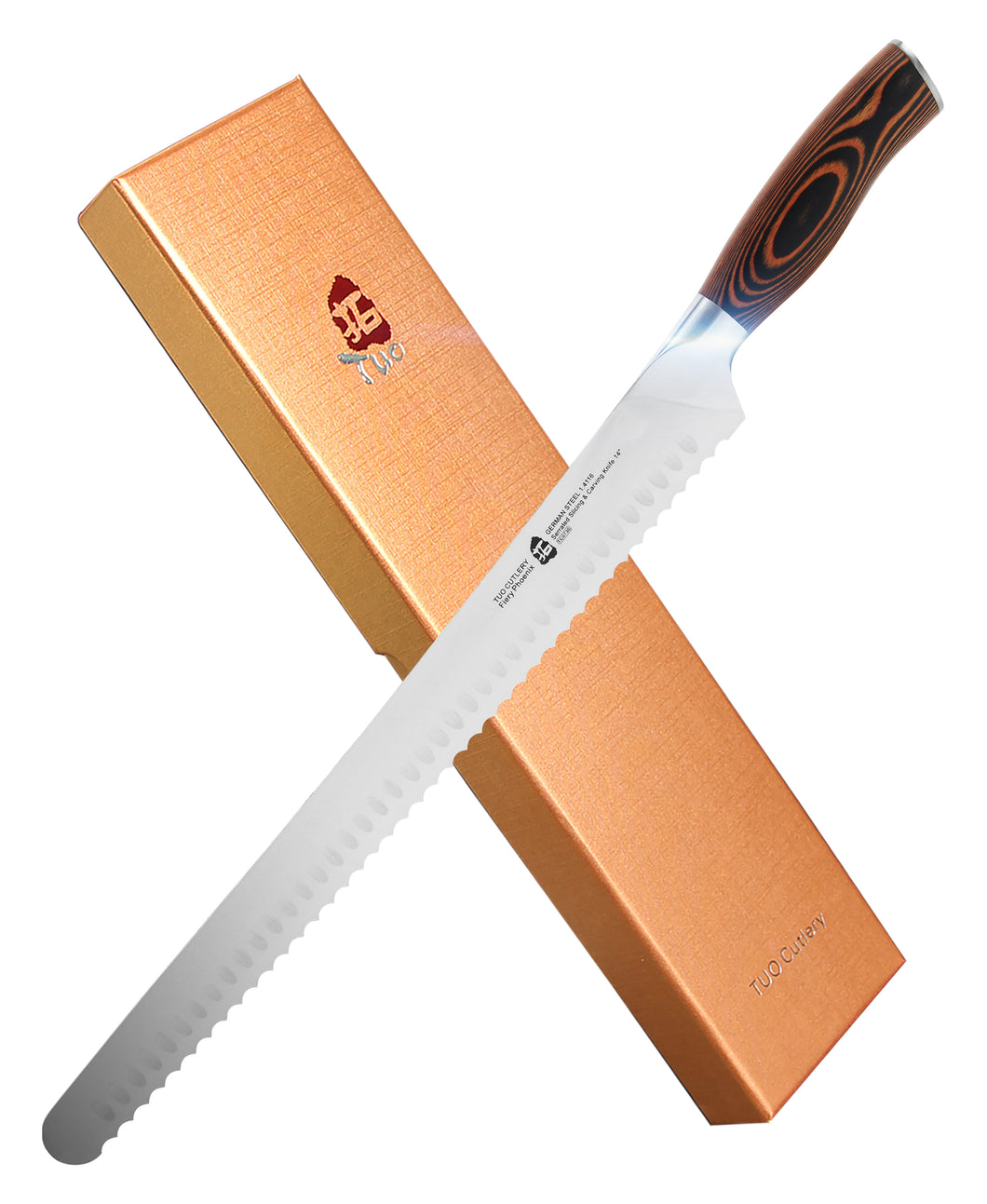 TC0730 Serrated Slicing & Carving 14''