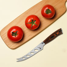 Load image into Gallery viewer, Tuo Cutlery, Tomato Knives, Cheese Knives, Multiuse Knives, Premium High Carbon Stainless Steel, Full Tang, Ergonomics handle, Multipurpose Knives, fruit knives, Serrated Edge, Super Sharp Blade