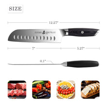 Load image into Gallery viewer, TC1304 Santoku 7''