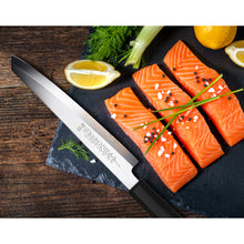 Load image into Gallery viewer, TC0902 Single-Edge Tanto Sushi Knife 8.25""