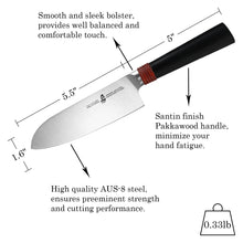 Load image into Gallery viewer, TC0502 Santoku 5.5''