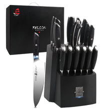 Load image into Gallery viewer, TC1314 17-PCS Kitchen Knife Set
