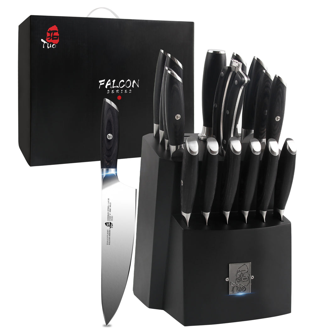 TC1314 17-PCS Kitchen Knife Set