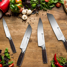Load image into Gallery viewer, Tuo Cutlery, Chopping Knives, Chopper, Cleaver, Vegetable Cleaver Knives, Meat Cleaver Knives, Premium High Carbon Stainless Steel, Full Tang, Ergonomics handle, Kitchen Knives, Cookware, Kitchenware, Bone Cutting