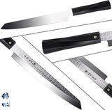 TC0802 Single-Edge Tanto Sushi Knife 8.25""