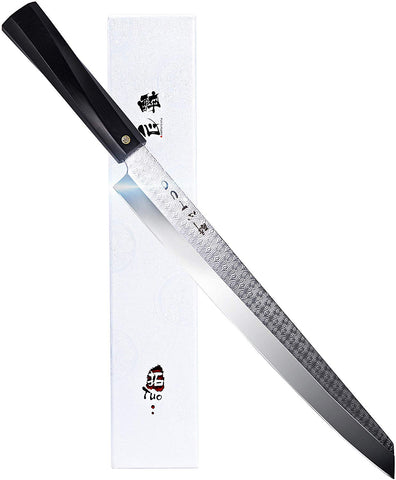 TC0802P Single-Edge Tanto Sushi Knife 10.5""
