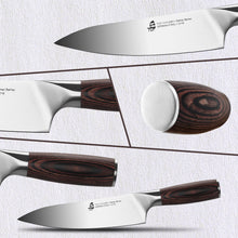 Load image into Gallery viewer, Tuo Cutlery, Professional Chef Knife, Kitchen Knife, High Carbon Stainless Steel, Sharp blade, Gyuto, Full Tang,	Chef's Knife, Pakkawood Handle