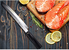 Load image into Gallery viewer, TC0802P Single-Edge Tanto Sushi Knife 10.5""