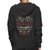 Racelite Designs Authentic Speedware Heritage Zip-Up Hoodie Back View