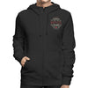 Racelite Designs Authentic Speedware Heritage Zip-Up Hoodie Front View