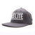 Racelite Designs Flat Brim Grey Emblem Flex Snap-Back Hat Product View 1