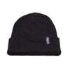 Racelite Designs Stealth Black Beanie Detailed View