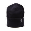 Racelite Designs Stealth Black Beanie Front View