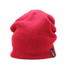 Racelite Designs Red Slouch Beanie Front View