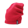 Racelite Designs Red Slouch Beanie Side View