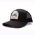 Racelite Designs Moto Black Woven Patch 6 Panel Hat Product View 1