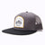 Racelite Designs Moto 6 Panel Flat Brim Snap Back Hat Side View