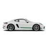 Racelite Designs Porsche Cayman 718 Classic Stripe Kit Forest Green