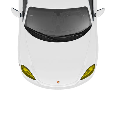 Racelite Designs Porsche Cayman 718 Yellow Headlamp Kit Product Image 2