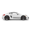 Racelite Designs Porsche Cayman 981 Classic Stripe Kit Gloss-Black View 1