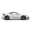 Racelite Designs Porsche Cayman GT4 Classic Stripe Kit Gloss Blue