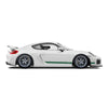 Racelite Designs Porsche Cayman GT4 Clubsport Classic Stripe Kit Forest Green