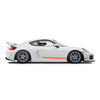 Racelite Designs Porsche Cayman GT4 Clubsport Classic Stripe Kit Gloss Orange
