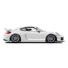Racelite Designs Porsche Cayman GT4 Clubsport Classic Stripe Kit Gloss White