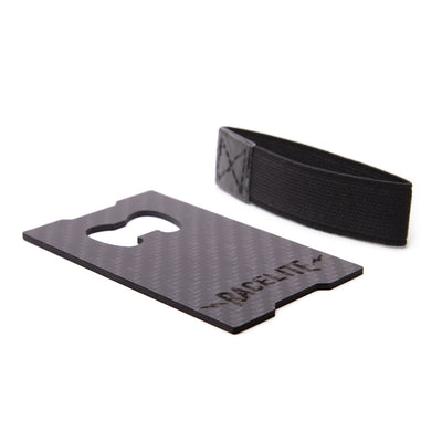 Racelite Designs Carbon Credit Card Holder - Bottle Opener - Product View 2