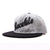 Racelite Designs Script Applique Wool Ballcap Side Angle Product View