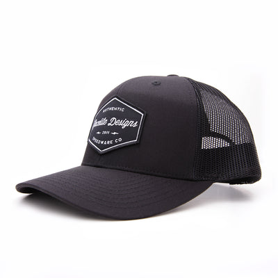 Racelite Designs Authentic Speedware Woven Patch 6 Panel Hat Product View 1