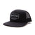 Racelite Designs Authenic Speedware Black Woven Label Trucker Hat Product View 1