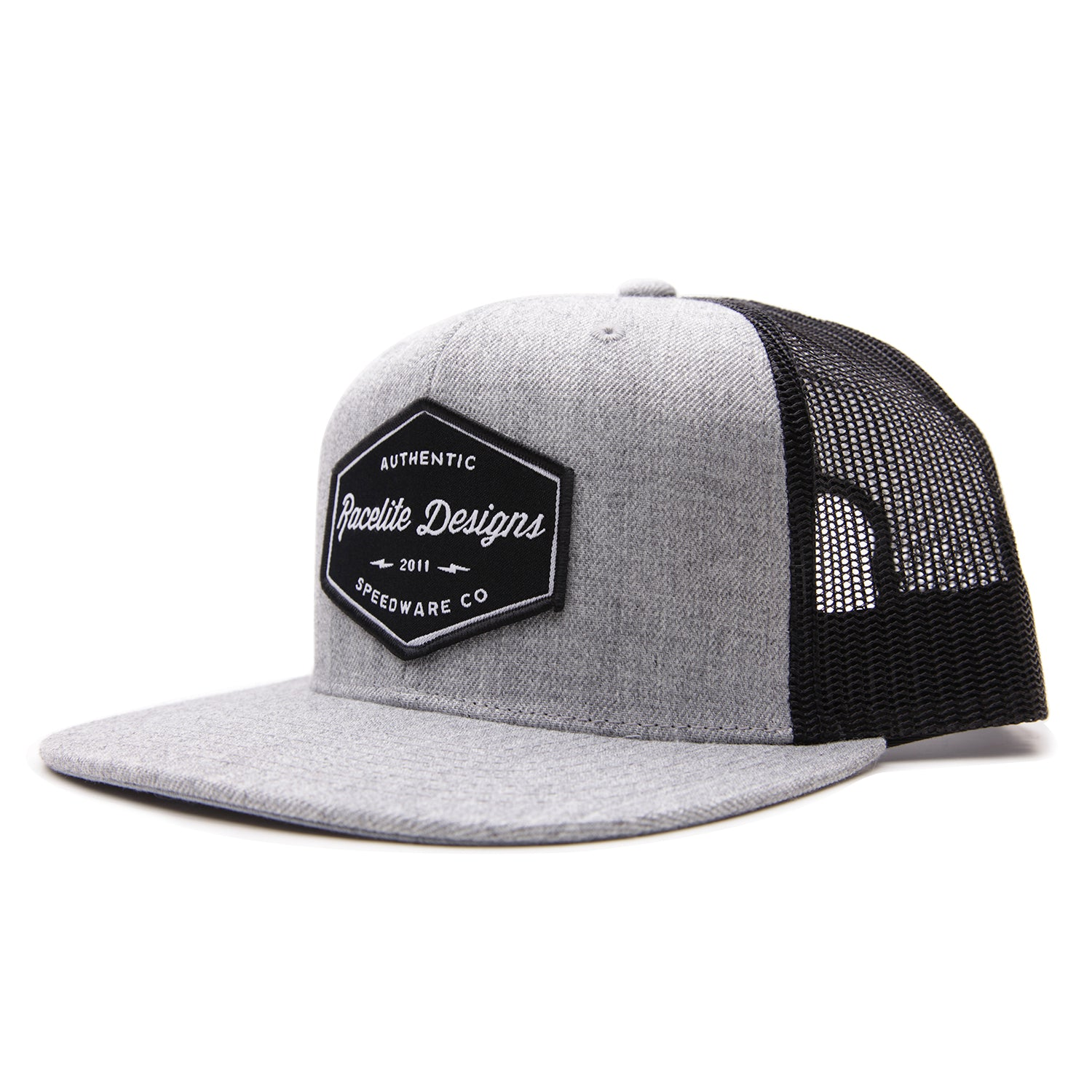 Racelite Designs Authentic Speedware Flat Brim Side View