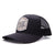 Racelite Designs Not For The Faint Hearted Black Woven Patch 6 Panel Hat Side Angle Product View