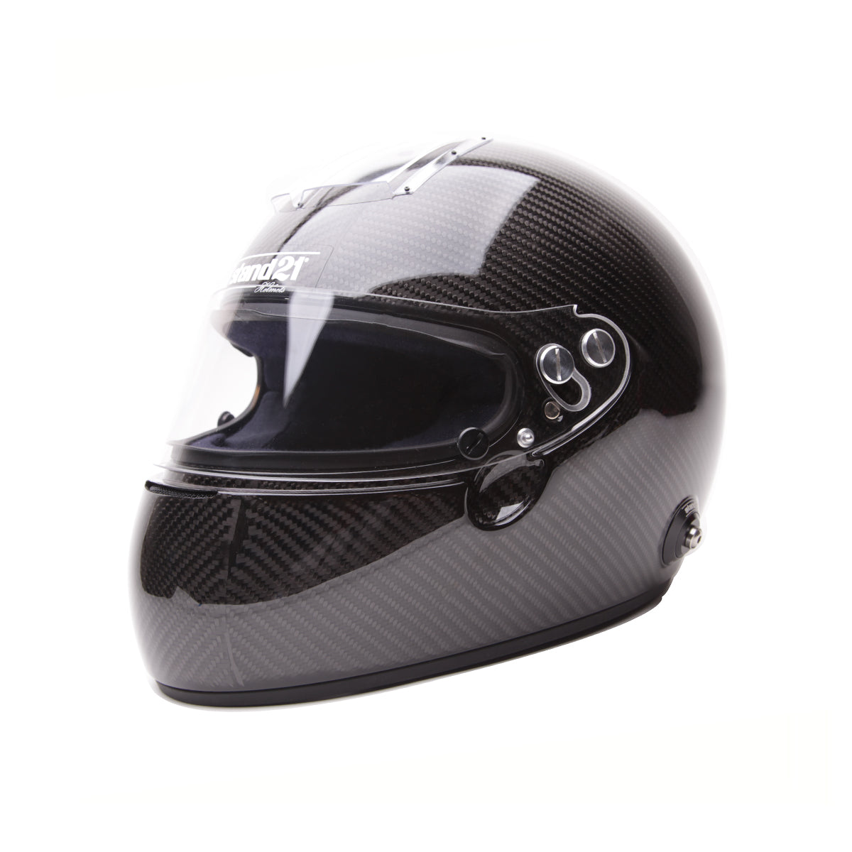 Racelite Optics -  Racelite Designs Stand 21 Racewear IVOS Helmet Tearoffs Detailed View 1