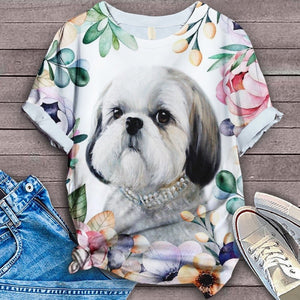 Shih Tzu Art Dog 9