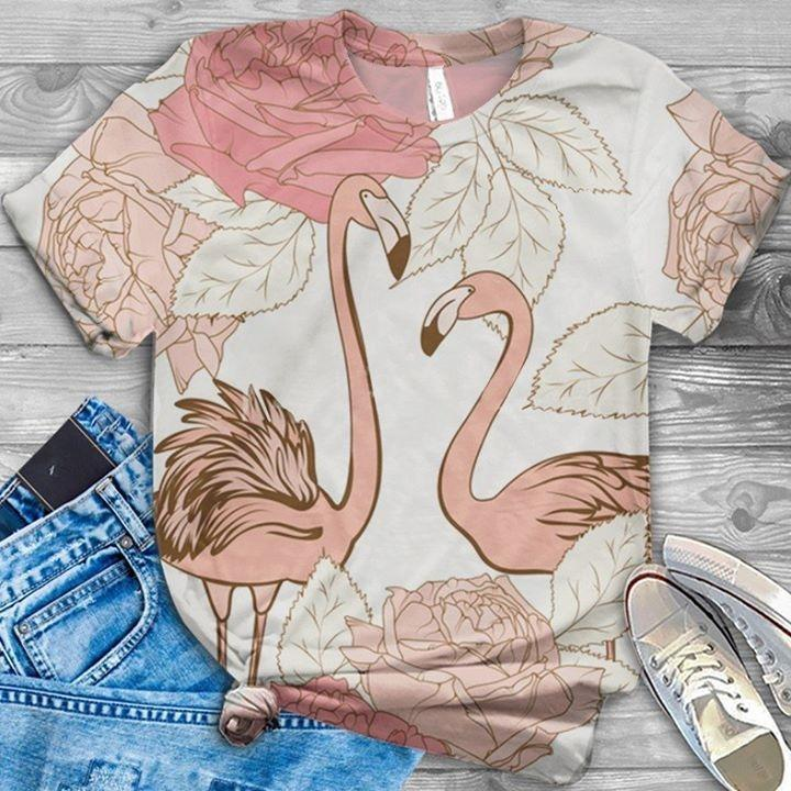 Flamingo Lovers Classic T-Shirt 18